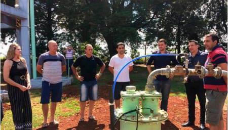 SOP investe na ampliação do abastecimento de água em Bom Retiro do Sul